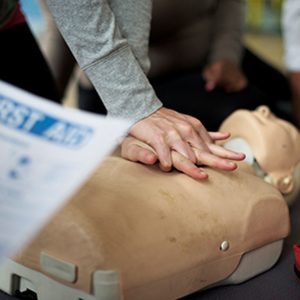 CPR online training course